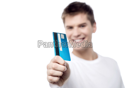 i got my new credit card