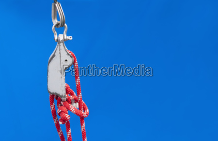 nautical knot and tackle background