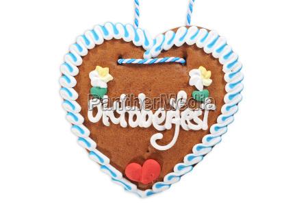 bavarian gingerbread heart