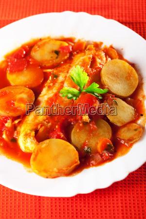 fish and potato stew fish and