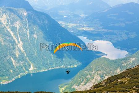 paragliding dachstein salzkammergut