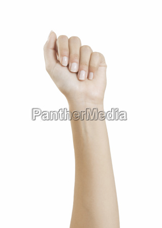 manicured fingernails