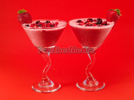 cocktails collection summer berry smoothie