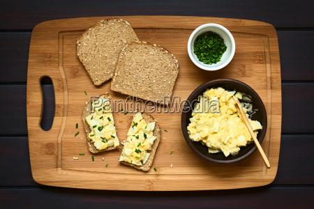 egg salad sandwich
