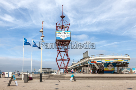 the pier in scheveningen holland