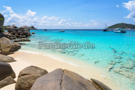beautiful beach at koh miang in