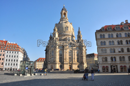 frauenkirche cathedral of dresden germany