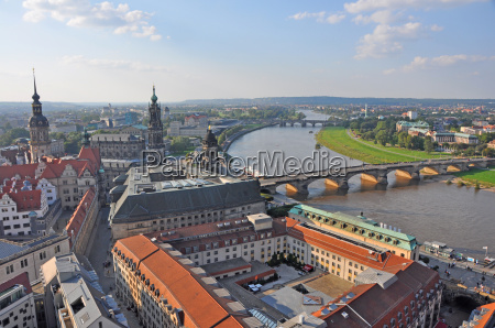 view over dresden germany