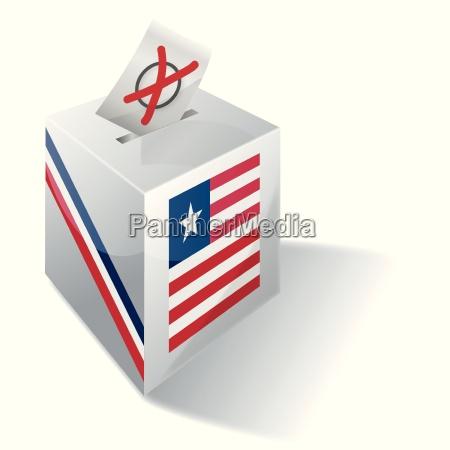 electoral box liberia