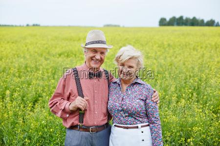seniors in natural environment