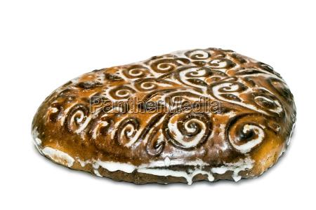beautiful cake on a white