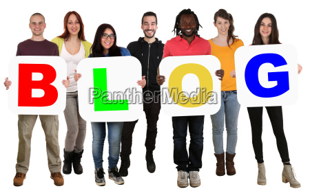 group young people people keep word