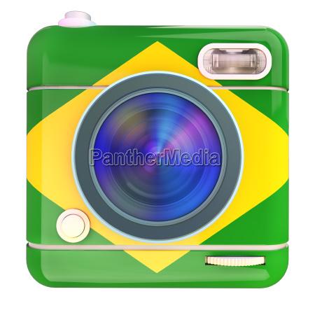 camera icon brazil
