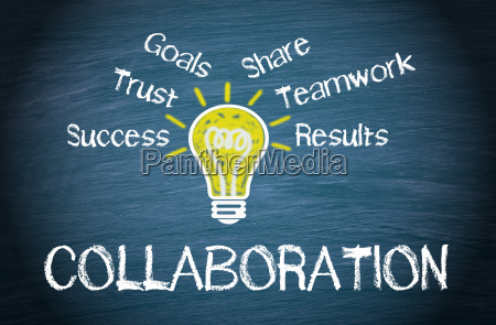 collaboration business concept