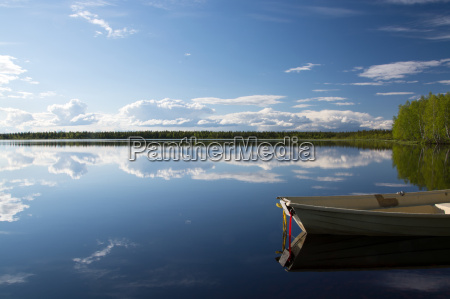 lakes of lapland finland
