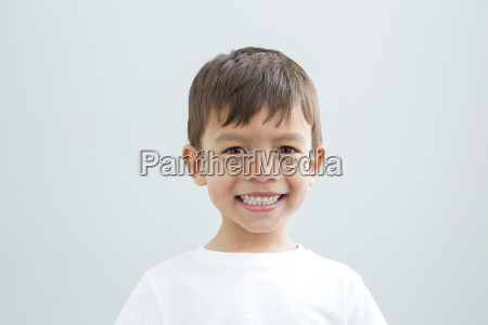 landscape headshot of young boy
