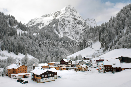 alpine village austria