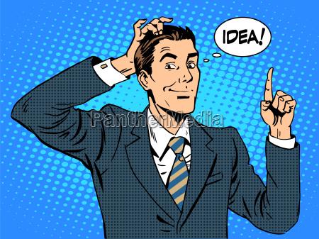 creative business people businessman idea