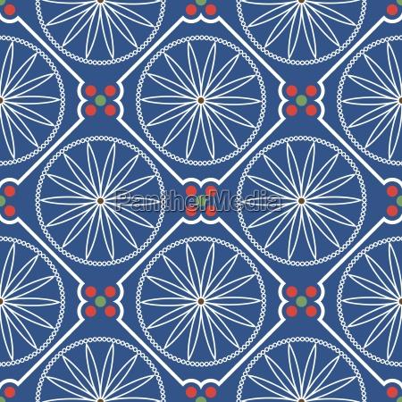 geometric chinese seamless pattern