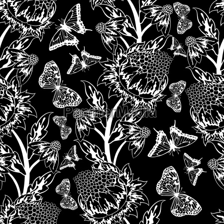 seamless floral ornate