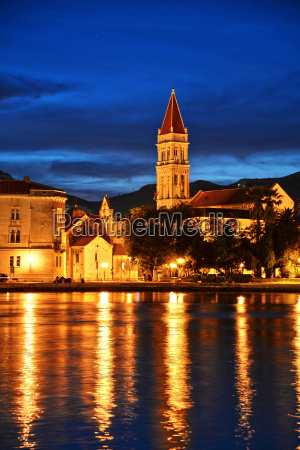 old town of trogir in dalmatia