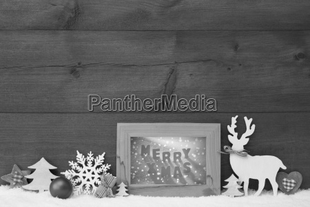 black and white christmas background snow