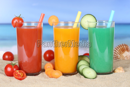 juice smoothie from vegetables vegetable tomato