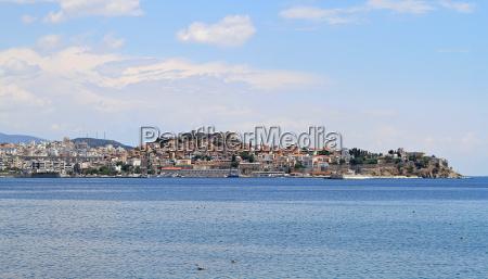kavala cityscape