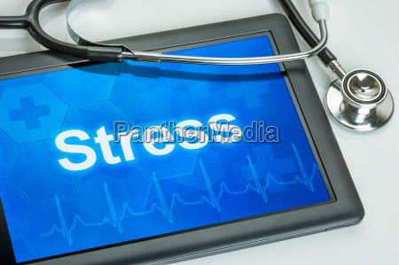 tablet diagnosed with stress on the