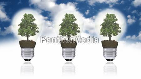 renewable energy concept green energy symbol
