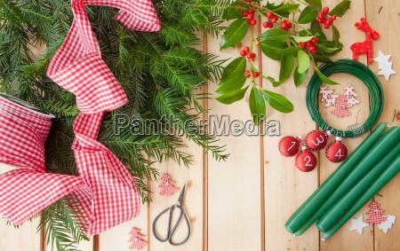 make advent wreath
