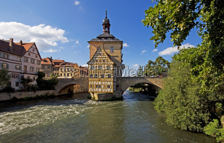 bamberg old city hall with