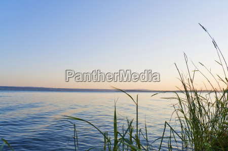 lake constance sunset