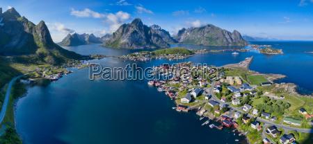 reine aerial panorama