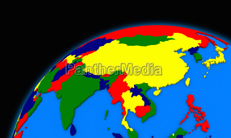 southeast asia on planet earth political