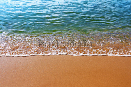 wave of the sea on the