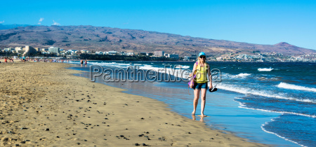 beach playa del ingles gran canaria