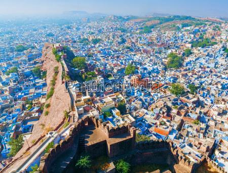 jodhpur blue city rajasthan india