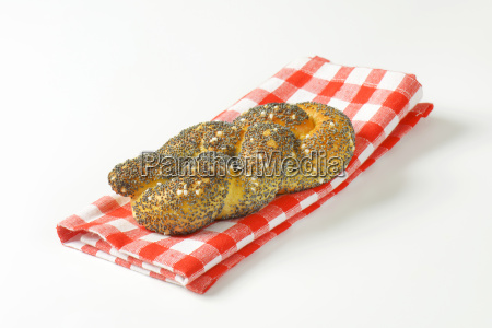 fresh poppy seed bread twist