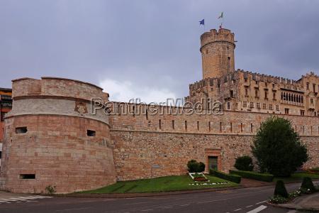 the castello del buonconsiglio in trento
