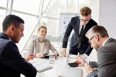 using cellphones at meeting