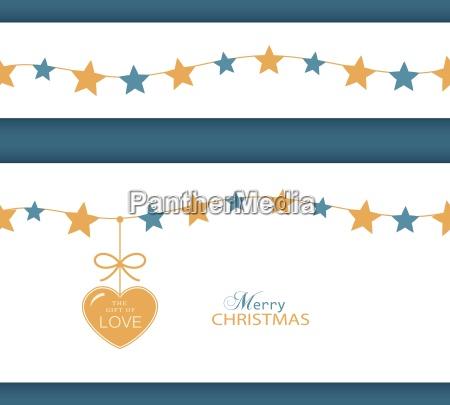 marea de yule navidad estrellas asteriscos