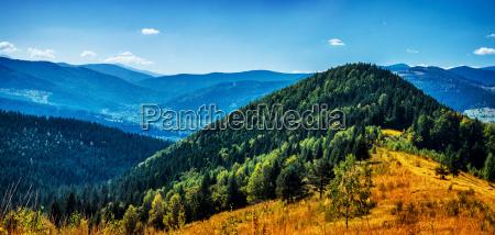 high beautiful mountains