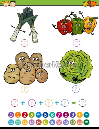 mathematical task cartoon