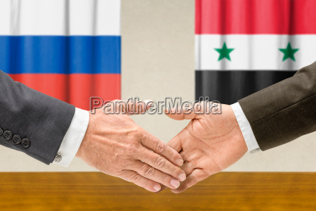 representatives of russia and syria join