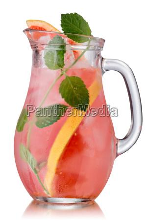 grapefruit mint detox jug