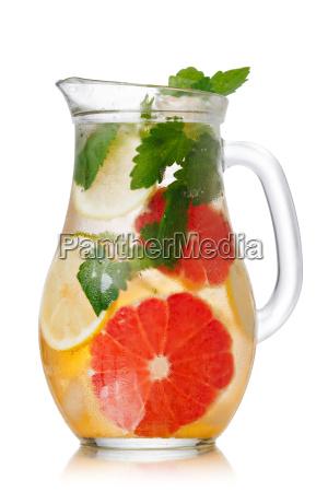 grapefruit lemonade pitcher