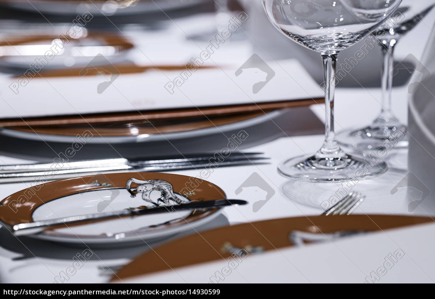 formal, dining, table, set, up, in - 14930599