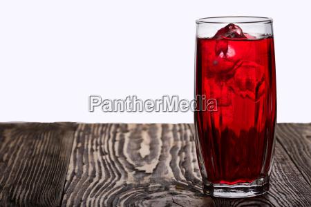 iced hibiscus tea rosella