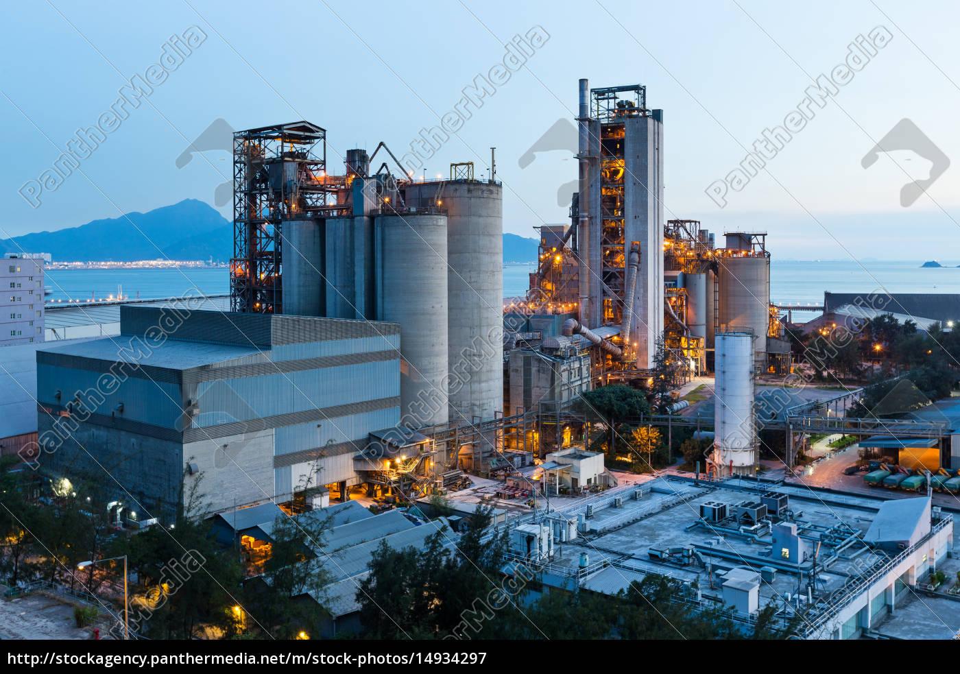cement, plant - 14934297